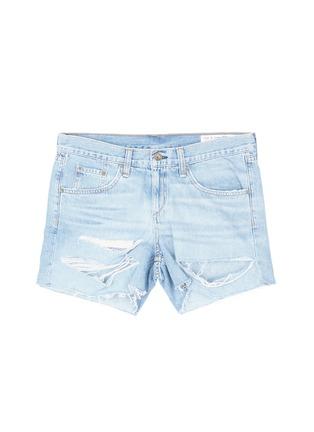 Main View - Click To Enlarge - rag & bone/JEAN - 'Boyfriend' distressed denim shorts