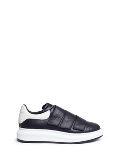 Alexander McQueen 'Larry' platform leather sneakers