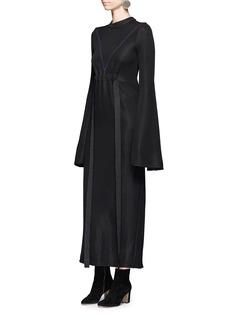 Ellery'Gasp' flute sleeve ponte knit dress