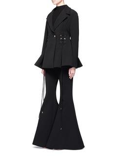 ElleryBattleship' lace-up flare jacket