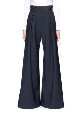 Ellery-'Exploit' paperbag waist wide leg pants
