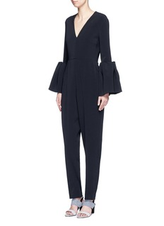 Roksanda 'Margot' lantern sleeve jumpsuit
