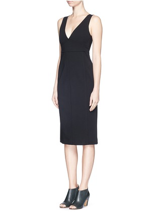 Front View - Click To Enlarge - Theory - 'Parmida' ponte knit dress
