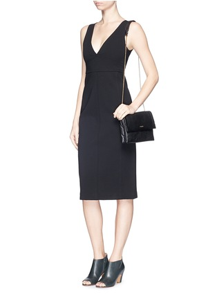 Figure View - Click To Enlarge - Theory - 'Parmida' ponte knit dress