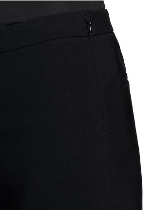 Detail View - Click To Enlarge - Theory - 'Laleenka C' satin cuff cropped pants