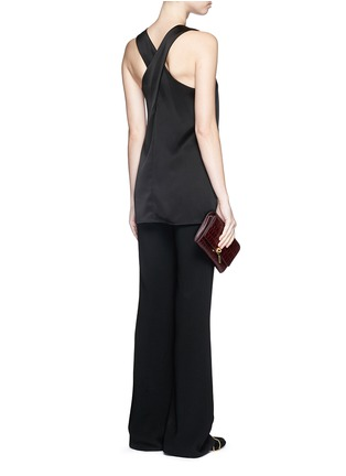 Figure View - Click To Enlarge - Theory - 'Parieom' satin sleeveless tunic
