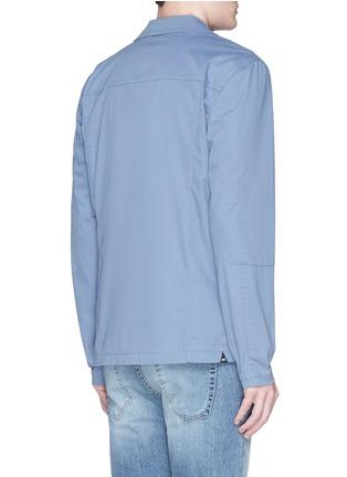 背面 - 点击放大 - DENHAM - 'Kelvin Cat' reinforced sleeve blazer