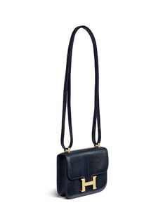 Vintage HermèsConstance Micro lizard leather bag