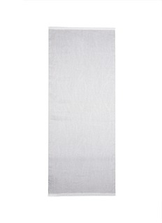ARMANI COLLEZIONIChalk stripe linen blend scarf