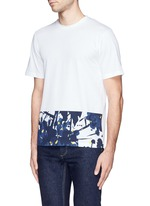 Inksplash floral print T-shirt