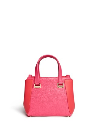 Back View - Click To Enlarge - Jimmy Choo - 'Alfie' small leather tote