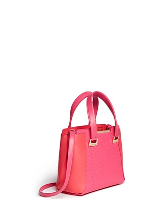 Front View - Click To Enlarge - Jimmy Choo - 'Alfie' small leather tote
