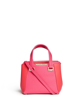 Main View - Click To Enlarge - Jimmy Choo - 'Alfie' small leather tote