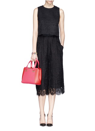 Figure View - Click To Enlarge - Jimmy Choo - 'Alfie' small leather tote