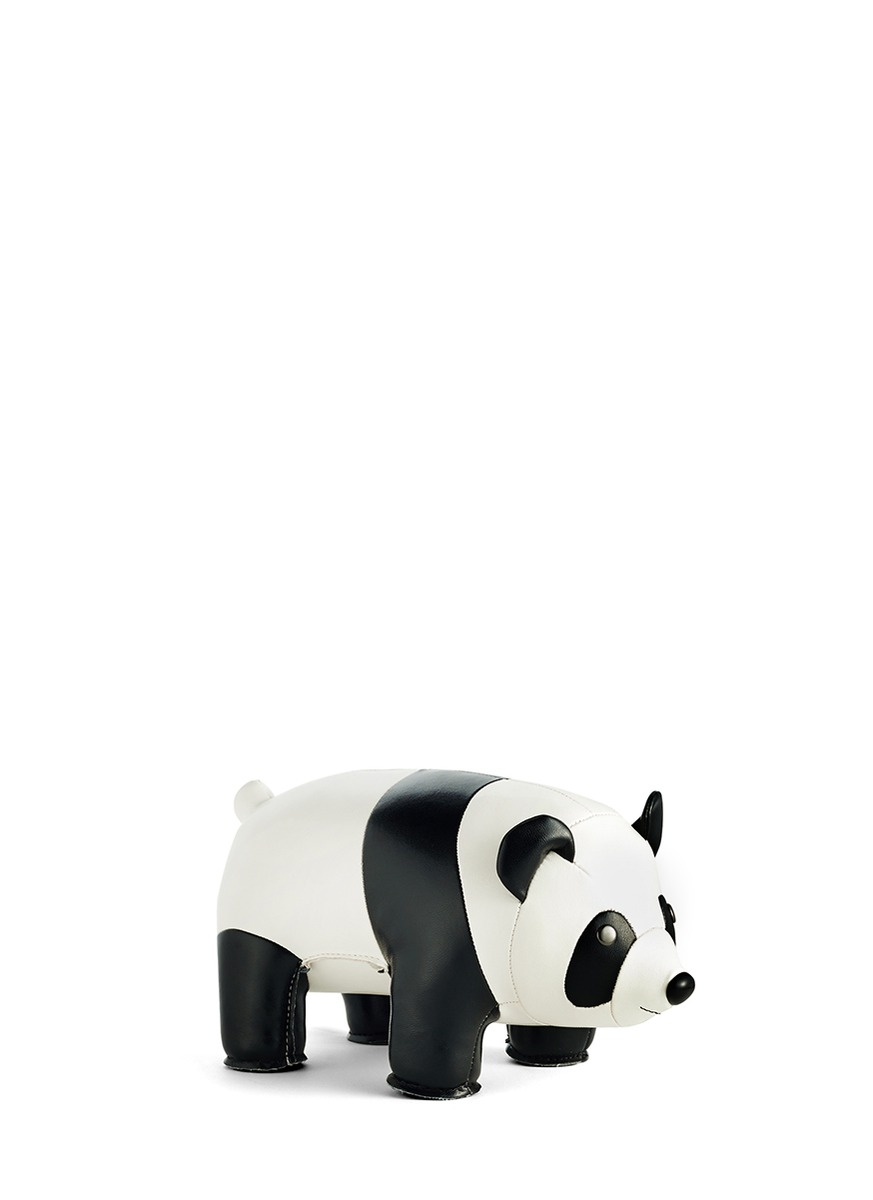 zuny bookend panda home decor accents home furnishing decor home lifestyle lane. Black Bedroom Furniture Sets. Home Design Ideas