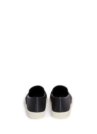 Back View - Click To Enlarge - Tory Burch - 'Jesse' perforated leather slip-ons