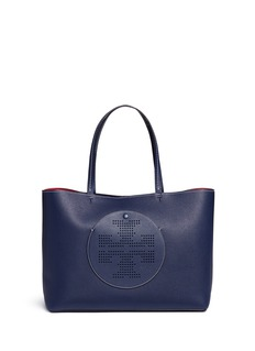 Tory Burch 'Perforated Logo' leather tote