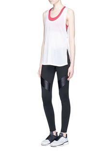 Monreal London 'Biker' drawstring waist performance leggings