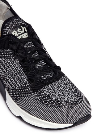 Detail View - Click To Enlarge - Ash - 'Lucky' mixed knit sneakers