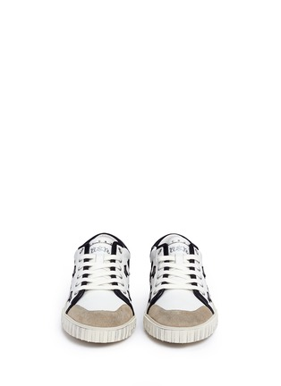 Ash - 'Magic' star and heart appliqué leather sneakers