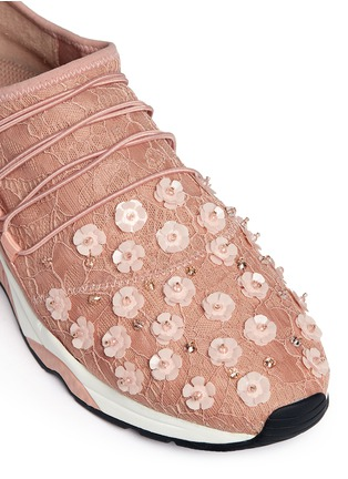 Detail View - Click To Enlarge - Ash - Miss Lace' floral bead appliqué sneakers