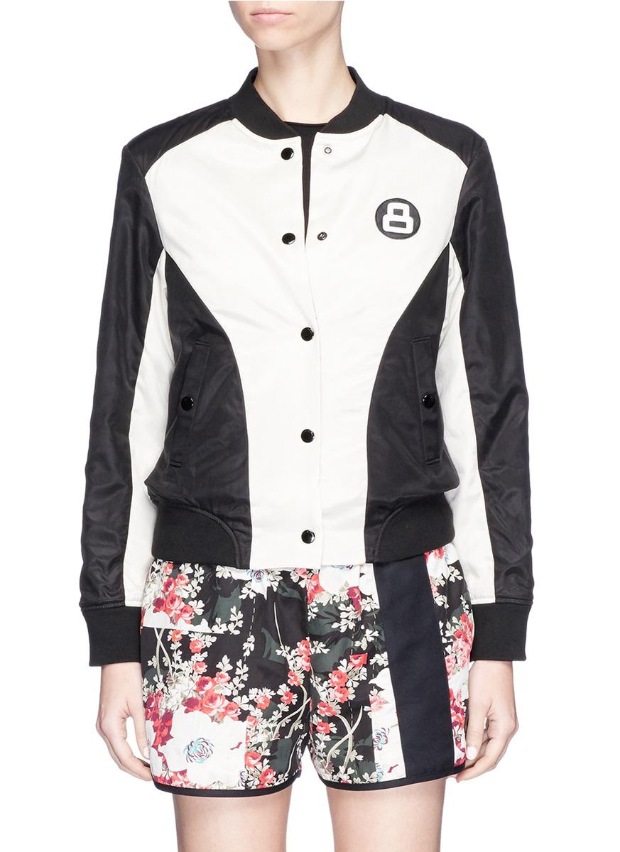 Morgan floral print reversible bomber jacket by rag & bone