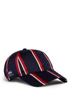 rag & bone'Marilyn' stripe wool-cotton baseball cap