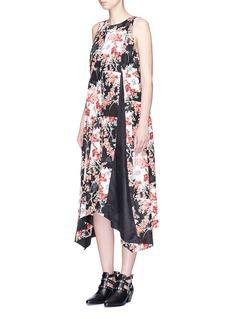 rag & bone'Otilia' floral print godet dress