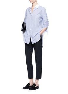 rag & bone'Essex' stripe cotton-silk shirt