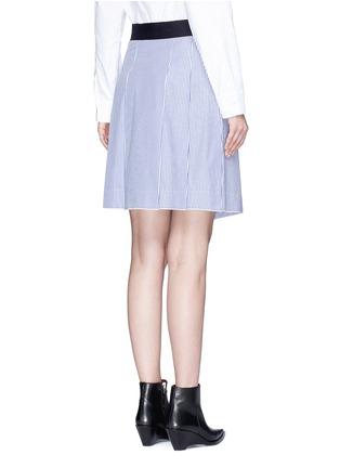 Back View - Click To Enlarge - rag & bone - 'Lenna' asymmetric stripe wrap skirt