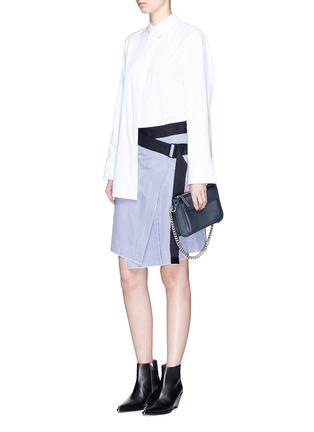 Figure View - Click To Enlarge - rag & bone - 'Lenna' asymmetric stripe wrap skirt
