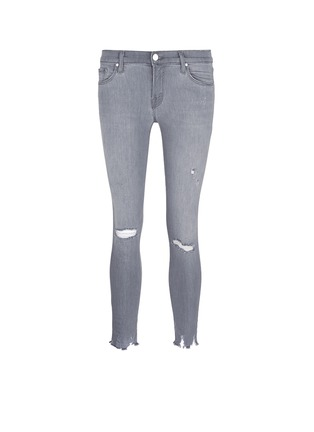 Main View - Click To Enlarge - J Brand - Low rise distressed cropped skinny jeans