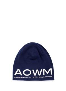 ADIDAS BY WHITE MOUNTAINEERINGAowm混棉针织帽