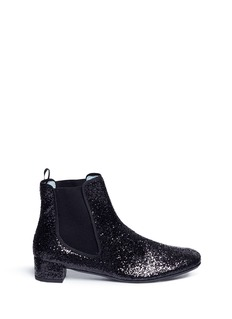 Frances Valentine 'Milly' glitter Chelsea boots
