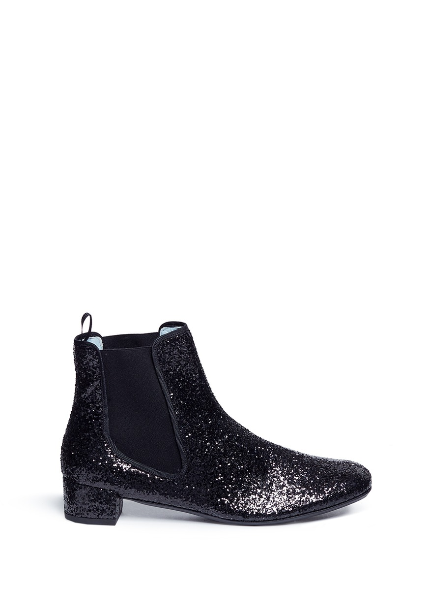 Milly glitter Chelsea boots by Frances Valentine
