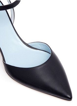 Detail View - Click To Enlarge - Frances Valentine - 'Alice' leather pumps