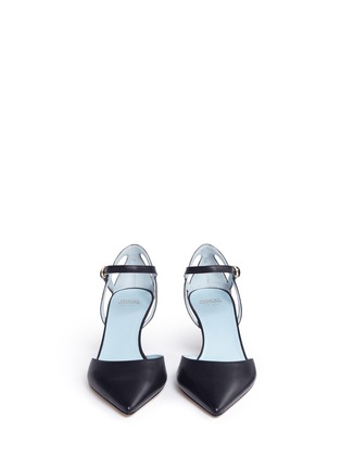 Front View - Click To Enlarge - Frances Valentine - 'Alice' leather pumps