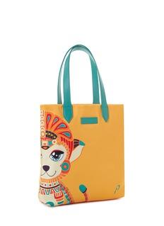 PAPINEEVani the monkey mini tote bag