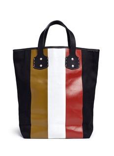 Ghurka'Broadway' stripe print tote bag