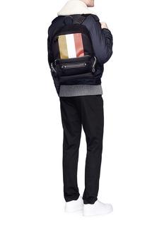 Ghurka'Weston II' stripe print backpack