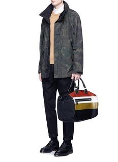 GhurkaStripe shopping bag