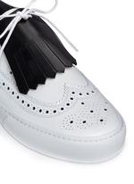 'Tolk' detachable kiltie leather brogue sneakers