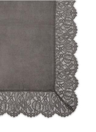 Detail View - Click To Enlarge - Faliero Sarti - 'Violante' floral lace cashmere-silk scarf