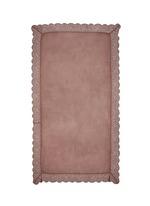 'Violante' floral lace cashmere-silk scarf