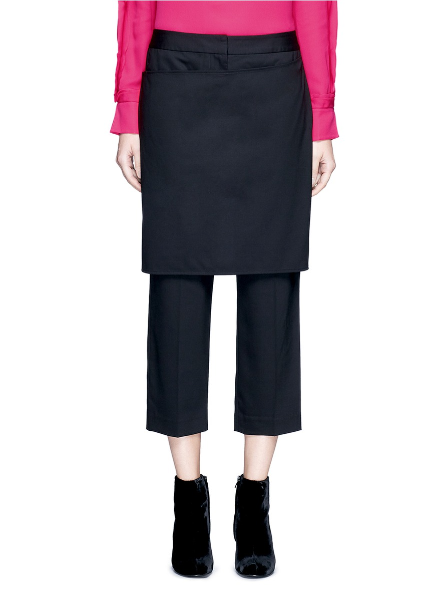 Apron front cropped pants by 3.1 Phillip Lim