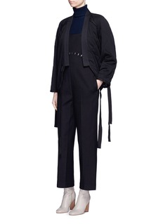3.1 Phillip Lim Stapled virgin wool jumpsuit