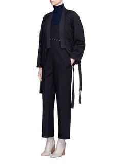 3.1 Phillip LimQuilted utility cotton kimono jacket