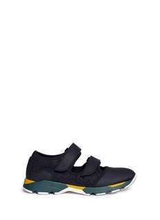 Marni Colourblock double strap sneakers