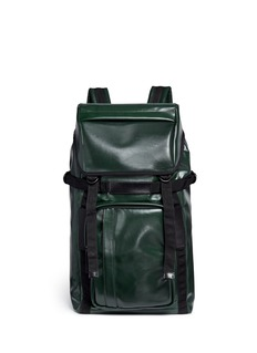 MarniFaux leather backpack