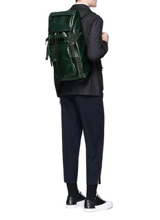 Marni Faux leather backpack